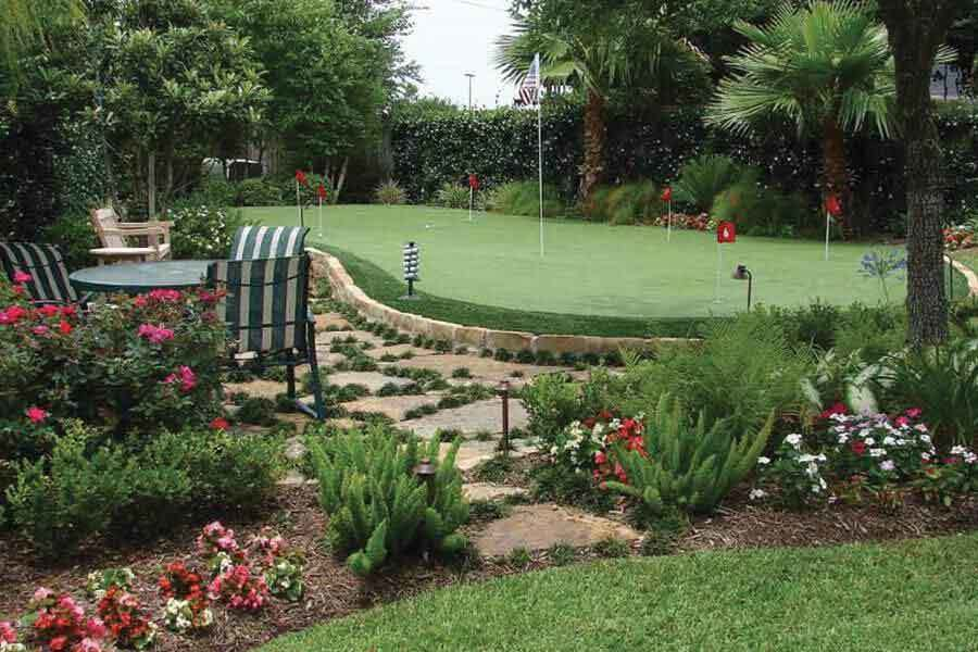 Artificial Grass Backyard Putting Greens : Paradise Valley, AZ Artificial Putting Greens