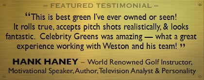 Hank Haney for Celebrity Greens