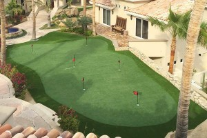 Scottsdale, Tempe, Paradise Valley, Chandler synthetic grass putting green