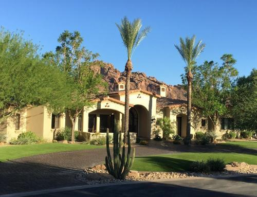 Paradise Valley estate: over 10,000 square feet artificial grass and putting green