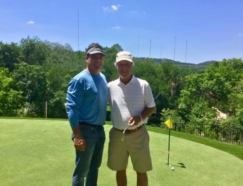2-time Masters Champion Ben Crenshaw chooses CG to build his custom backyard putting green