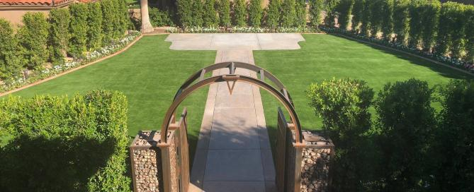 scottsdale wedding venue with synthetic turf